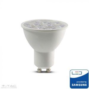 6W LED spotlámpa Samsung chip GU10 lencsés 10°