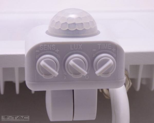 50W Mozgásérzékelős LED reflektor Samsung chip fehér IP65