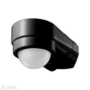 Infravörös Sarokba szerelhető mozgásérzékelő fekete IP65 - 6612