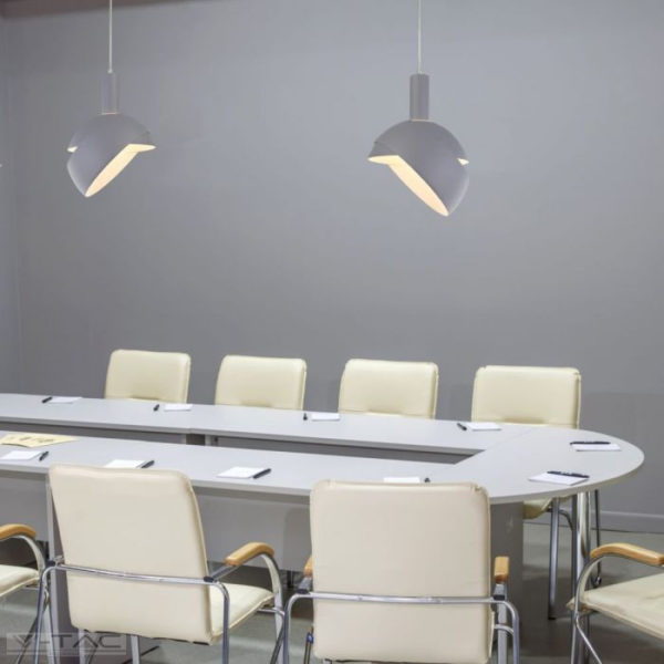 Szürke mozgatható búrájú design csillár E14 foglalattal - 3922