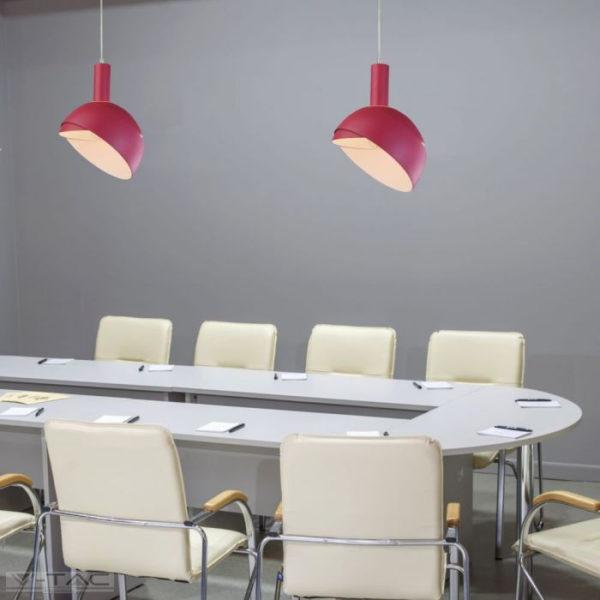 Pink mozgatható búrájú design csillár E14 foglalattal - 3923