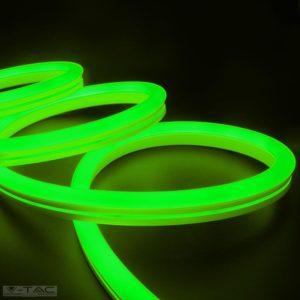 6,5W Zöld Neon Flex oldalirányba hajlítható 24V - 2616