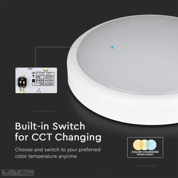 LED mennyezeti lámpa Samsung chip CCT IP65