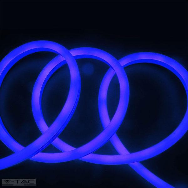 6,5W Kék Neon Flex oldalirányba hajlítható 24V IP68 - 2615
