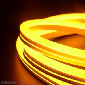 6,5W Sárga Neon Flex oldalirányba hajlítható 24V IP68 - 2617