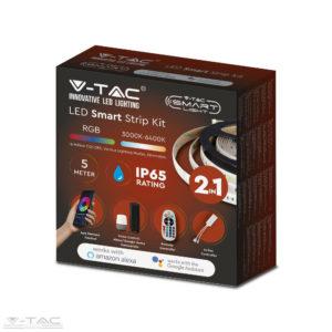RGB+CCT LED szalag szett wifis smart vezérlővel és tápegységgel - 2628