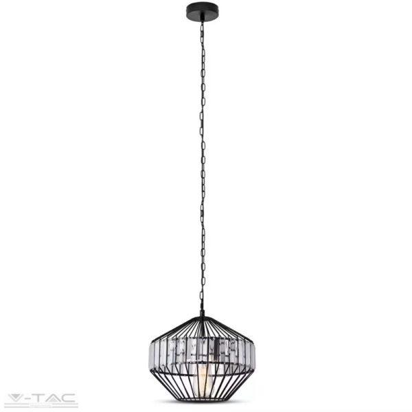 Fém medál lámpa-2, E27 foglalattal - 3956