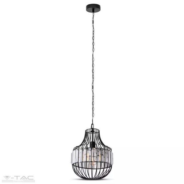 Fém medál lámpa-3, E27 foglalattal - 3957