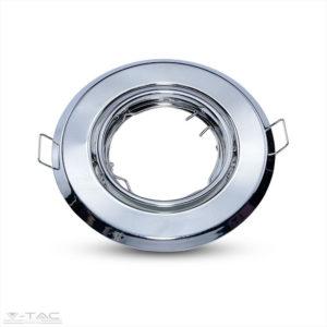 GU10 beépítőkeret króm 2db/csomag kör - 8940