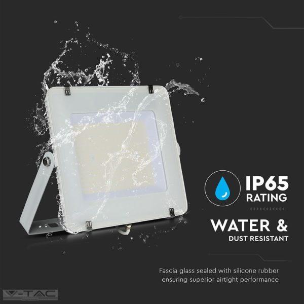 300W fehér LED reflektor Samsung chip 120lm/W A++