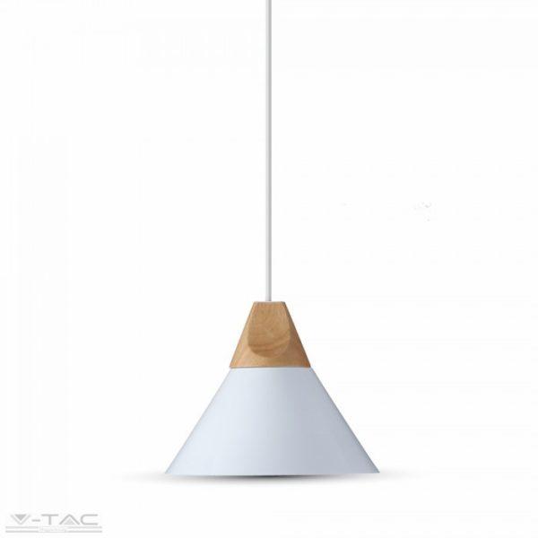 Fehér fém csillár - 3756