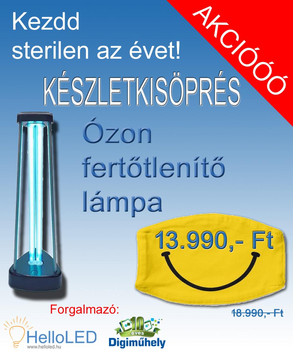 Ózonlámpa - készletkisöprés