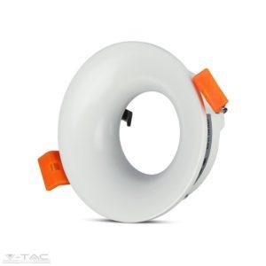 GU10 beépítőkeret kör fehér - 3169