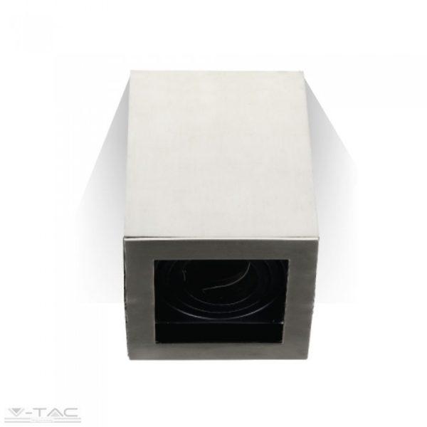 Felületre szerelhető billenthető GU10 keret négyszög - 3632