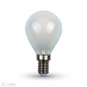 Retro LED izzó - 4W Filament opál E14 P45 Hideg fehér 44941