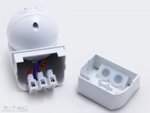 PIR Infravörös Fali mozgásérzékelő fehér IP44 - 5088