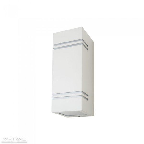 GU10 foglalattal ellátott fali lámpatest fehér 2 irányú IP44 - 7543