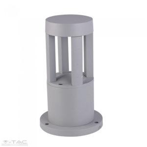 10W LED Kerti állólámpa 25 cm szürke 4000K - 8320