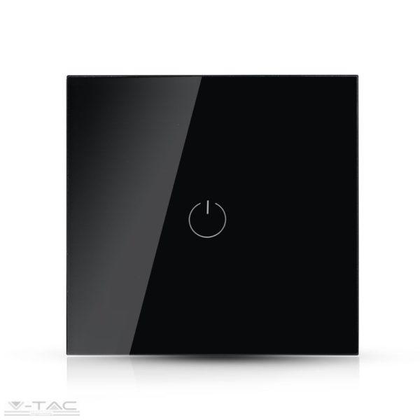 Fekete üveg váltókapcsoló - 8389