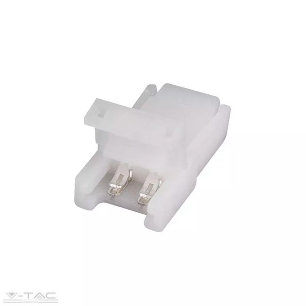 Szerelhető csatlakozó kéteres vezetékhez és 8 mm-es LED szalaghoz - 2655