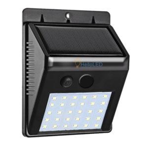 Solar LED lámpa 3 W-os, alkonykapcsolóval