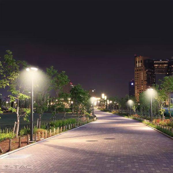 Tartó oszlop napelemes LED kerti/utcai lámpához - 11258
