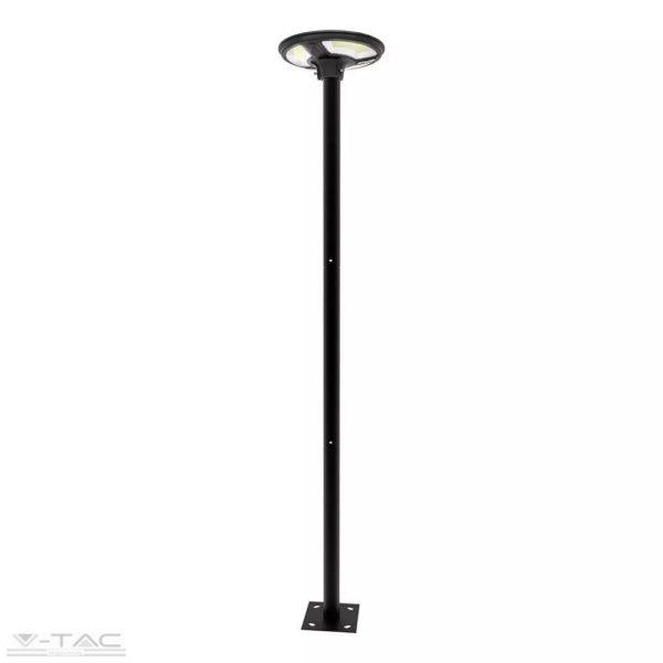Napelemes LED kerti/utcai lámpa beépített szenzorral IP65