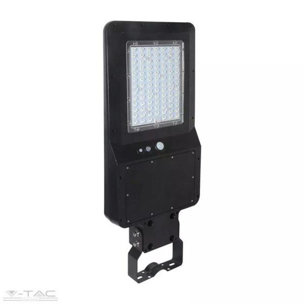 40W LED utcai lámpa napelemes beépített mozgásérzékelővel