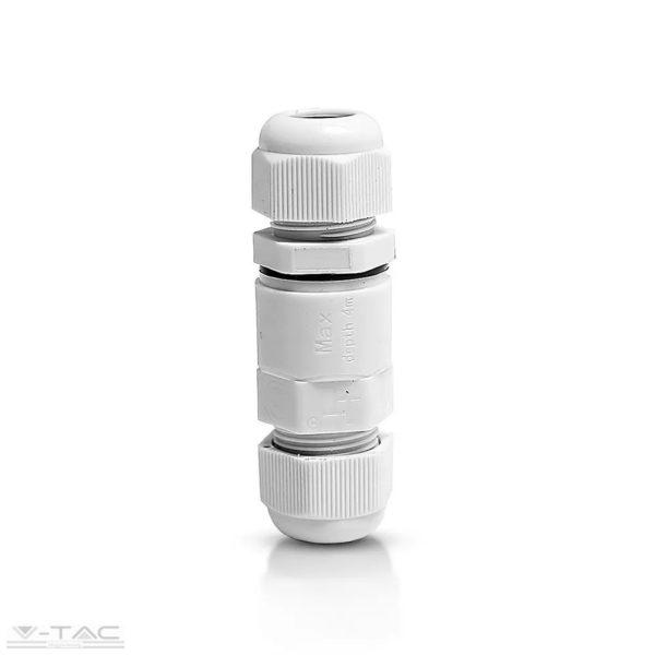 Vízhatlan kötődoboz fehér (kapszula) - 5986