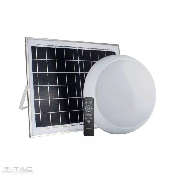 15W Napelemes LED mennyezeti lámpa IP65 CCT - 7613