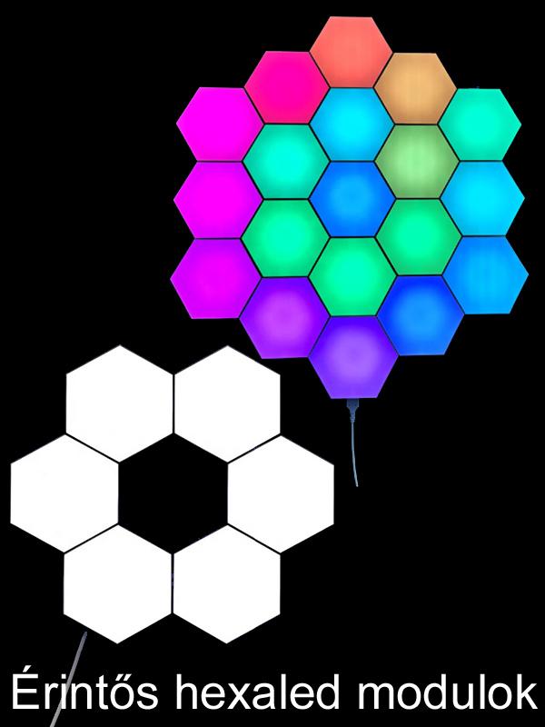 Érintős LED modulok