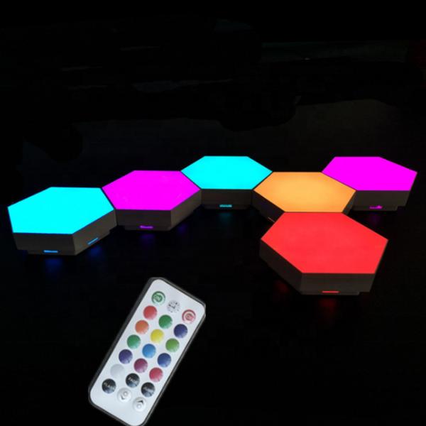 Érintős hexaled modul, távirányítós, RGB, Quantum
