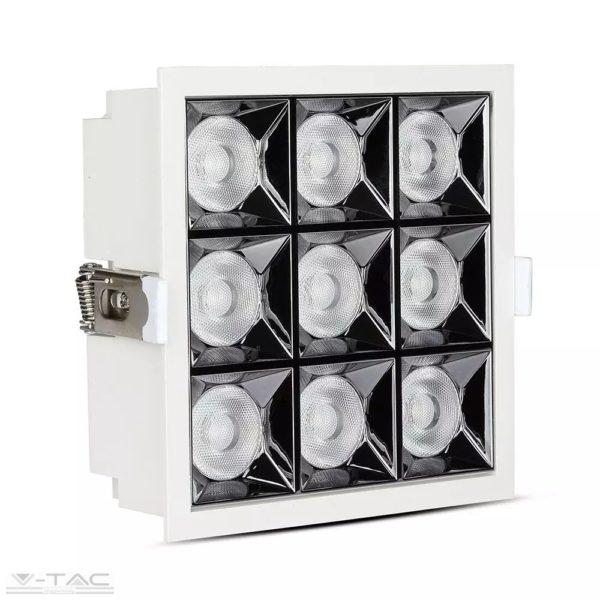 36W LED mélysugárzó fehér Samsung chip 38° CRI>90 UGR<19