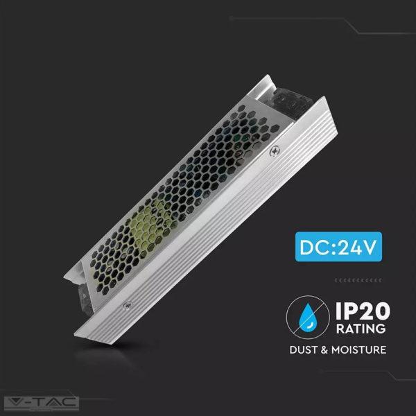 120W fém tápegység 24V 5A IP20 - 3262