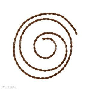 Kábel - sodort barna - 3780