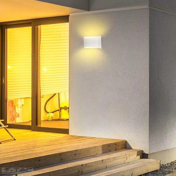10W LED fel-le világító fali lámpa fehér 4000K IP54 - 8683