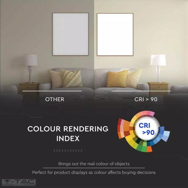 16W LED mélysugárzó fehér Samsung chip 12° CRI>90 UGR