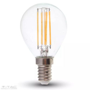 6W Retro LED izzó Filament E14 P45