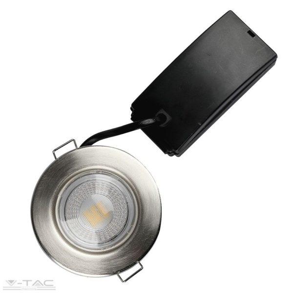 5W Dimmelhető nikkel LED tűzbiztos mélysugárzó