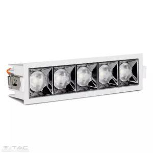 20W LED lineár mélysugárzó fehér Samsung chip CRI>90 UGR